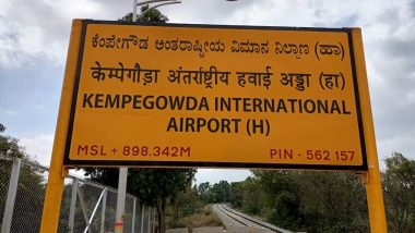 Bengaluru Residents Can Take Train to Kempegowda International Airport From Tomorrow