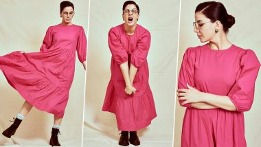 Yo or Hell No? Kirti Kulhari in Khara Kapas for the Girl on the Train Promotions!