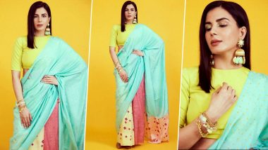 A Look at Kirti Kulhari Making Her Own Rainbow and Also Oozing Understated Elegance!