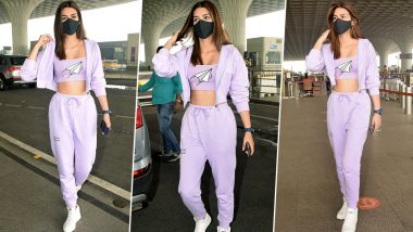 Decoding Kriti Sanon's Athleisure Chic Airport Look!