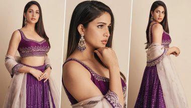 Lavanya Tripathi Is Oozing Some Serious Charm in a Festive Lehenga, Here's a Look at Her Purple Passion!