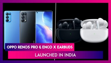 Oppo Reno 5 Pro & Enco X Earbuds Launched in India; Check Prices, Features, Variants & Specifications