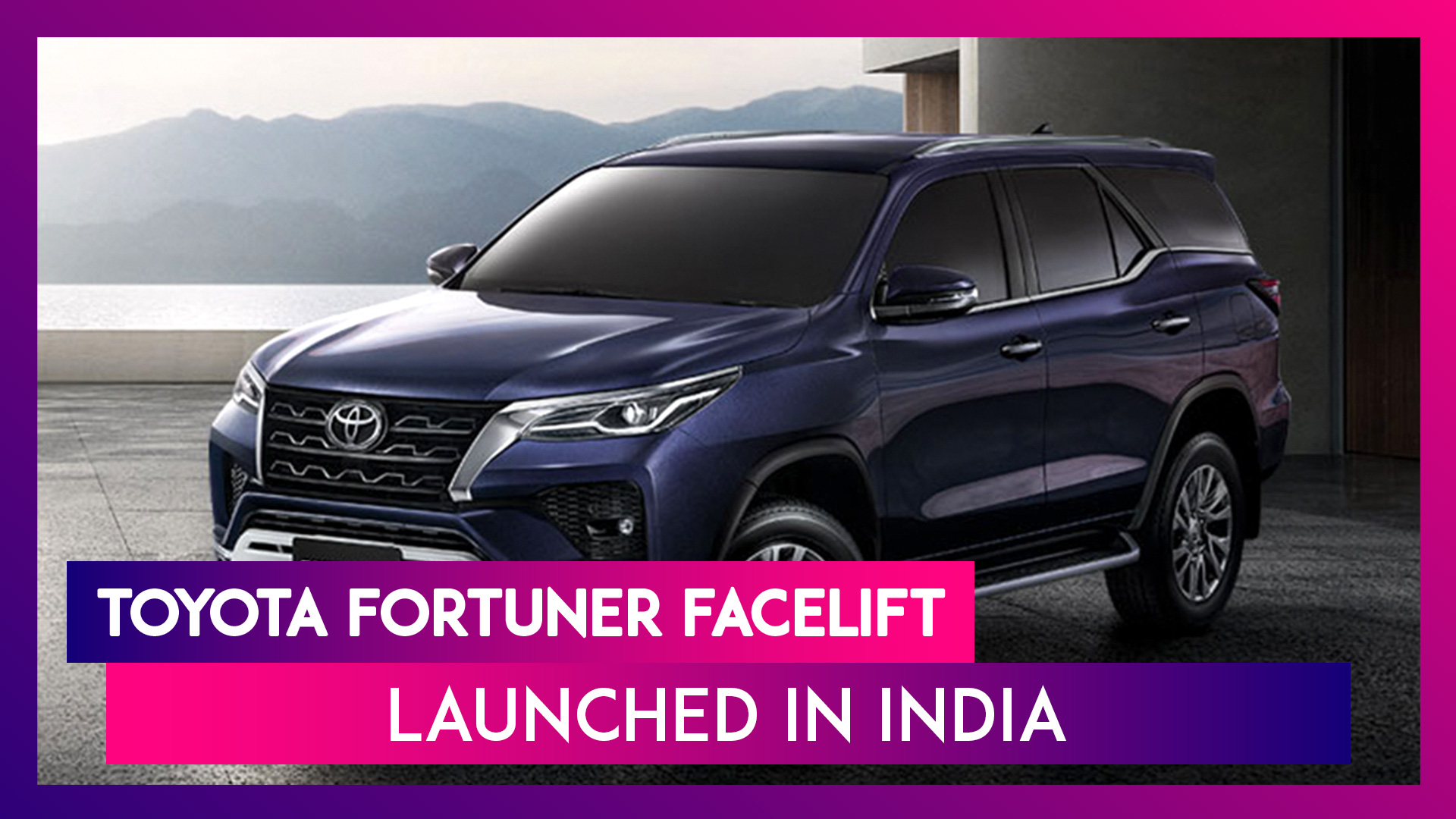 Toyota Fortuner Facelift Launched in India; Check Prices, Features, Variants & Specifications