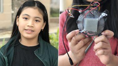 Licypriya Kangujam Shares Photo of Solar Powered Device That Converts Air Into Water, 9-YO Activist Names it SUKIFU-2