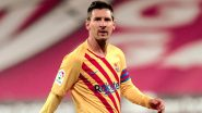 Lionel Messi Reacts After Barcelona Beat Osasuna 2-0 in La Liga 2020–21 (View Post)