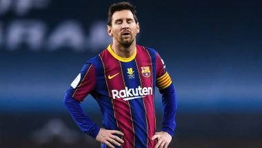 Lionel Messi Red Card: Barcelona Manager Ronald Koeman Reacts to Argentine's Sending Off in Spanish Super Cup 2021 Final