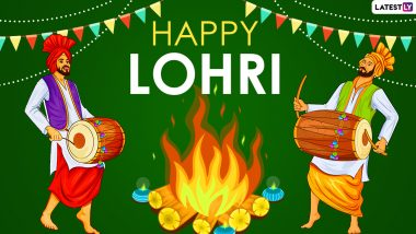Lohri 2021 Date and Shubh Muhurat: Know Significance and Celebrations of This Winter Harvest Festival