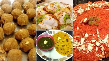 Lohri 2021 Special Foods: From Makki Ki Roti to Til Chikki, These Traditional Recipes Are a Must on Your Thali This Harvest Festival