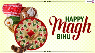 Magh Bihu 2021 Wishes and WhatsApp Stickers: Bhogali Bihu Messages, Facebook Greetings, Telegram HD Images and GIFs to Wish Happy Bihu to Friends and Family