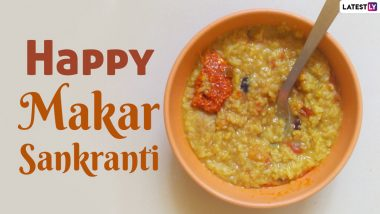 Khichdi Sankranti 2021 HD Images & Greetings: Share Uttarayan Wishes & Quotes with Khichdi Pics While You Try This Easy Recipe of the Auspicious Food on Makar Sankranti (Watch Video)