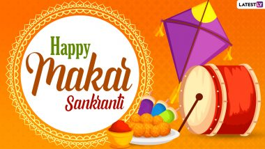 Happy Makar Sankranti 2021 Greetings: WhatsApp Messages, HD Images, Photo Status, GIFs, SMS, Quotes and Wallpapers to Wish Family & Friends