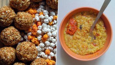 Makar Sankranti 2021 Recipes: Tilgul, Bhogi Sabji to Khichdi, Authentic Dishes to Make on This Harvest Festival (Watch Videos)