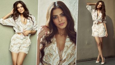 Malavika Mohanan Shows Us How To Elevate Everyday Style With White Paisley!