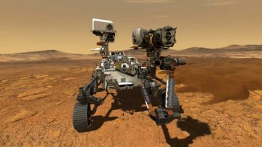 NASA's Perseverance Rover Records Sounds of Driving on Mars