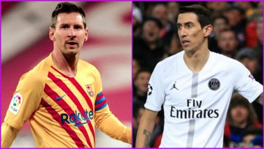 Lionel Messi Transfer to PSG? Before Retirement Angel Di Maria Hoping to Play Alongside his Compatriot