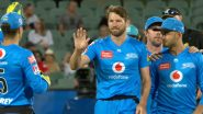 Michael Neser Takes One-Handed Stunning Catch During Adelaide Strikers vs Brisbane Heat BBL 2020–21 Match (Watch Video)