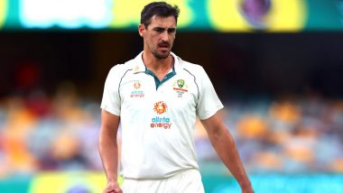 Mitchell Starc Gives Australia Injury Scare Ahead of the Final Day of IND vs AUS 4th Test Match in Brisbane
