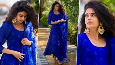 Mithila Palkar's Beautiful Blue Anarkali Will Drive Away Your Mid-Week Blues!