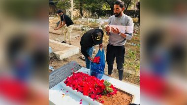 Mohammed Siraj Drives Straight to Father's Grave From Hyderabad Airport on Return From Australia