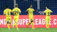 CFC vs MCFC Head-to-Head Record: Ahead of ISL 2020–21 Clash, Here Are Match Results of Chennaiyin FC vs Mumbai City FC Last 5 Encounters in Indian Super League