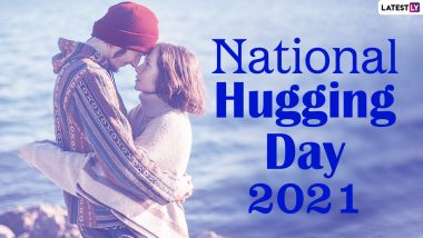 National Hugging Day 2021 Quotes, Greetings & HD Images: Send WhatsApp Stickers, Warm Hug Pics, Wishes & Messages to Your Loved Ones