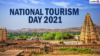 National Tourism Day 2021 Wishes, Messages and HD Images: From Tourism Quotes to Throwback Travel Pics, Tweeple Celebrate the Day to Create Awareness About the Significance of Tourism