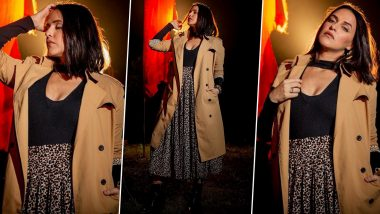 Neha Dhupia Is Fiercely Feminine Chic and Taking a Walk on the Wild Side!