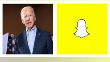 New Snapchat Filter Introduced for Joe Biden's Lockdown-Induced Inauguration Day