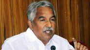 Kerala Solar Scam: State Govt to Hand Over Sexual Assault Cases Against Former CM Ommen Chandy And Five Others to CBI