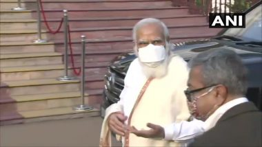 Subhas Chandra Bose Jayanti 2021: PM Narendra Modi Visits Netaji's Ancestral Home in Kolkata