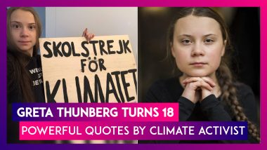 Greta Thunberg Turns 18: Here Is What Teen Climate Activist Has To Say On Reaching Adulthood