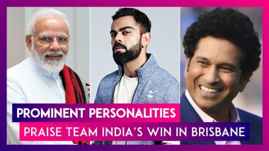 PM Narendra Modi & Others Heap Praises On Team India After Series Triumph Over Australia