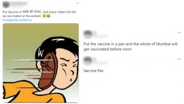 'Put The Vaccine In...' Funny Memes Are Trending Online As India Begins COVID-19 Vaccination Drive, Netizens Come up With Unique Ways to Administer Vaccines Through Foodstuffs to Reach Maximum People