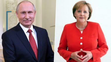 Vladimir Putin, Angela Merkel Discuss Joint COVID-19 Vaccine Production Plan