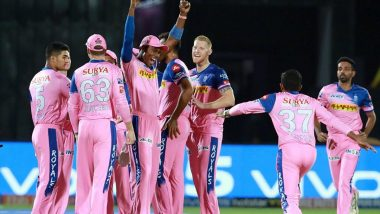 RR Squad for IPL 2021: List of Retained & Released Players by Rajasthan Royals Ahead of Mini Auctions