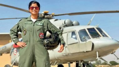 Republic Day 2021: Flt Lt Swati Rathore to be First Woman Leading Flypast on Parade at Delhi's Rajpath
