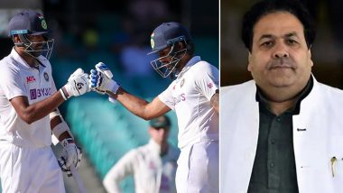 Rajeev Shukla Criticises Indian Batsmen After Drawing IND vs AUS 3rd Test; Twitterati Hits Back at BCCI Vice-President
