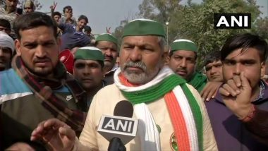 People from Political Parties Trying to Malign Farmers' Agitation: BKU Spokesperson Rakesh Tikait
