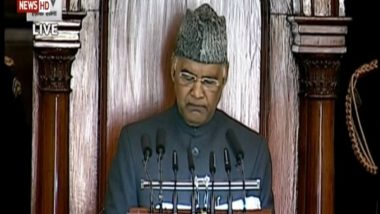 Budget Session of Parliament: Digital Transactions of Over Rs 4 Lakh Crore Done Through UPI in December 2020, Says President Ram Nath Kovind