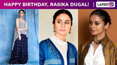 Rasika Dugal Birthday Special: A Perennially Sartorial State of Affairs!
