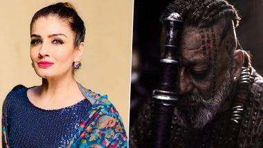 KGF Chapter 2: Raveena Tandon, Sanjay Dutt Love the Overwhelming Response on the Film's Teaser