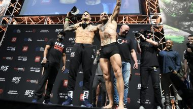 Conor McGregor Fight Live Streaming on SonyLiv: Watch Free Live Telecast of The Notorious vs Dustin Poirier UFC 257 on TV in India