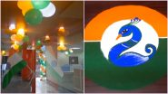 Republic Day 2021 Office Bay Decoration Ideas: From Indian Flag Rangoli Designs and Easy Tricolour DIY Crafts to Decorate Your Desk on 26 January