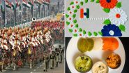 Republic Day 2021 Virtual Celebration Ideas For Kids: Watching The R-Day Parade, Drawing Tiranga Rangoli & Cooking Tricolour Recipes, Here's How to Celebrate January 26 at Home