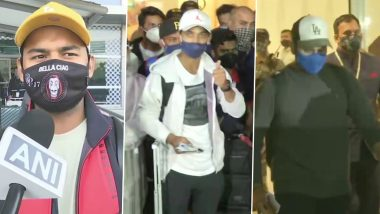 Ajinkya Rahane, Rishabh Pant & Other Team India Players Return Home After Historic Test Series Triumph Over Australia (View Pics)