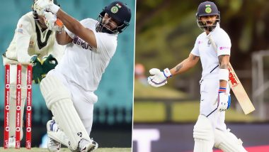 Rishabh Pant Achieves Career Best Position in ICC Test Batting Rankings, Virat Kohli Drops down to Fourth Spot