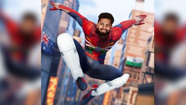 ICC Give Funny Twist to Rishabh Pant's Spider-Man Song During IND vs AUS 4th Test at The Gabba