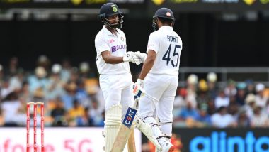 India vs Australia 4th Test 2021 Day 3 Live Streaming Online on DD Sports, Sony LIV and Sony SIX: Get Free Live Telecast of IND vs AUS on TV, Online and Listen To Live Radio Commentary