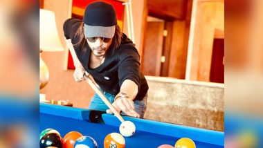 Shah Rukh Khan Shares a Picture of Himself Playing Pool and It's His Cryptic 'Pink' Message That Has Our Attention!