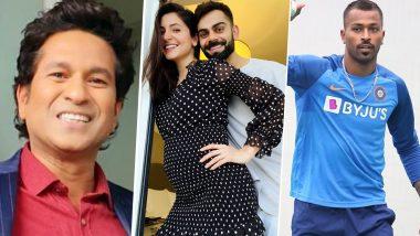 Virat Kohli, Anushka Sharma Become Parents to Baby Girl, Sachin Tendulkar, Suresh Raina & Hardik Pandya Lead Cricket Fraternity in Wishing the Couple